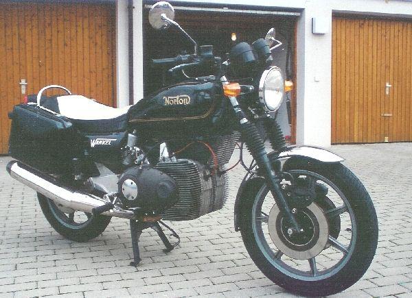 Prototypes MZ à moteur Wankel Norton-wankel
